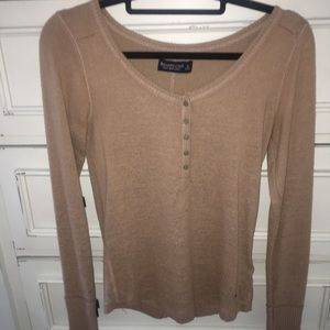 Abercrombie long sleeve top
